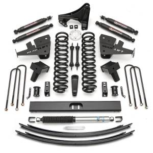 Steering And Suspension - Lift & Leveling Kits - ReadyLift - ReadyLift 2017-2018 FORD F250/F350 8.0'' Lift Kit with SST3000 Shocks-2 Piece Drive Shaft 49-2781