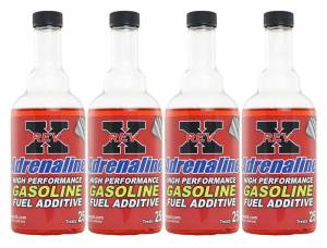 REV-X - Rev-X Four 8oz Bottles of Adrenaline Fuel Additive for Gas Engines