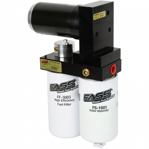 Fuel System & Components - Fuel System Parts - FASS - TITANIUM SIGNATURE SERIES DIESEL FUEL LIFT PUMP 165GPH GM DURAMAX 6.6L 2001-2010 (TS C10 165G)