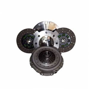 Transmission - Manual Transmission Parts - Valair Performance Diesel Clutches - Valair NMU73ZF5DDS Dual Disc Ceramic Clutch 94-97 Ford 7.3L 5-Speed