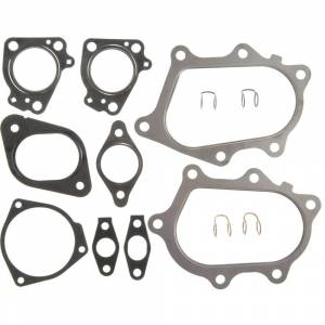 Engine Parts - Gaskets And Seals - Mahle - MAHLE - GS33678 Turbocharger Mounting Gasket Set