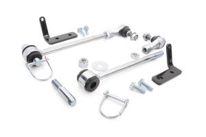 Rough Country - Jeep Front Sway-bar Disconnects | 3.5-6in (07-18 Wrangler JK) - Image 1