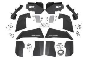 Rough Country - Jeep Front & Rear Inner Fenders Set | Vertex Shocks (07-18 Wrangler JK) - Image 1