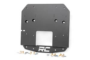 Rough Country - Jeep Spare Tire Relocation Bracket (18-19 Wrangler JL w/ Rear Proximity Sensors) - Image 1