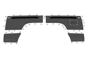 Rough Country - Jeep Rear Upper and Lower Quarter Panel Armor (84-96 Cherokee XJ) - Image 1