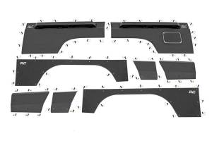 Rough Country - Jeep Front & Rear Upper and Lower Quarter Panel Armor - (97-01 Cherokee XJ) - Image 1