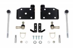 Rough Country - Jeep Front Sway-bar Disconnects (4-6in) - Image 1