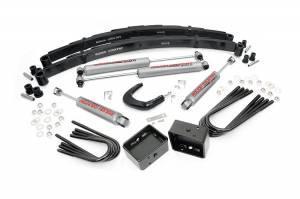 Steering And Suspension - Lift & Leveling Kits - Rough Country - 4-inch GM Suspension Lift Kit