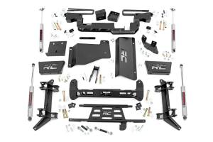 Rough Country - 6in GM Suspension Lift Kit (88-00 K2500/3500 PU 4WD)