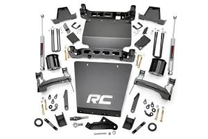 Rough Country - 7in GM Suspension Lift Kit | Strut Spacers (16-18 1500 PU 4WD | Stamped Steel)