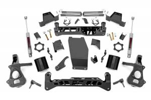 Rough Country - 7in GM Suspension Lift Kit | Strut Spacers (2018 1500 PU 4WD)