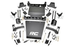 Rough Country - 7in GMC Suspension Lift Kit (14-17 1500 Denali PU 4WD w/MagneRide | Steel)