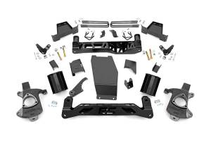 Rough Country - 7-inch Denali Magneride Suspension Lift Kit (Factory Cast Aluminum Control Arm Models)