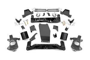 Rough Country - 6-inch Denali Magneride Suspension Lift Kit (Factory Cast Aluminum Control Arm Models)