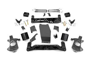 Rough Country - 5-inch Denali Magneride Suspension Lift Kit (Factory Cast Steel Control Arm Models)