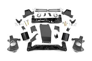 Rough Country - 6-inch Denali Magneride Suspension Lift Kit (Factory Cast Steel Control Arm Models)