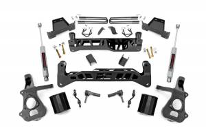 Rough Country - 7in GM Suspension Lift Kit | Strut Spacers (2018 1500 PU 2WD)