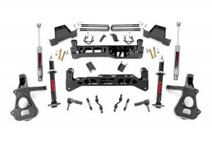 Rough Country - 7in GM Suspension Lift Kit | Lifted Struts (2018 1500 PU 2WD)