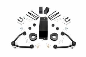 Rough Country - 3.5-inch Denali Magneride Suspension Lift Kit (Factory Cast Steel Control Arm Models)