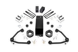 Rough Country - 3.5-inch Denali Magneride Suspension Lift Kit (Factory Cast Aluminum Control Arm Models)