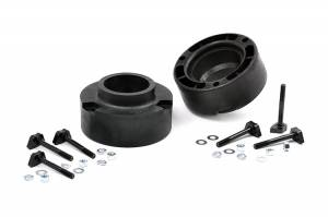 Steering And Suspension - Lift & Leveling Kits - Rough Country - 2.5in Dodge Leveling Coil Spacers 94-12 Ram 3500 & 94-13 Ram 2500