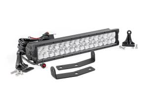 Rough Country - Nissan 20in LED Bumper Kit | X5 Series (16-19 Titan XD)