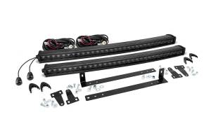 Rough Country - Ford 30in Dual LED Grille Kit | Black Series (09-14 F-150)
