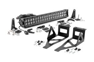 Rough Country - Ford 20in LED Bumper Kit | Black Series (05-07 F-250/350)