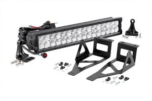 Rough Country - Ford 20in LED Bumper Kit | X5 Series (05-07 F-250/350)