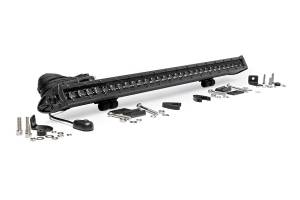 Rough Country - 30-inch Cree LED Light Bar - (Single Row | Black Series)