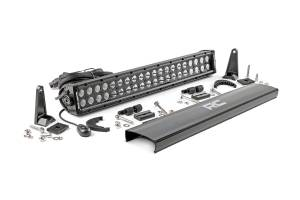 Rough Country - 20-inch Cree LED Light Bar - (Dual Row | Black Series)