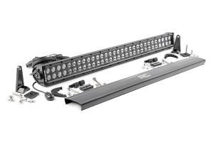 Rough Country - 30-inch Cree LED Light Bar - (Dual Row | Black Series)