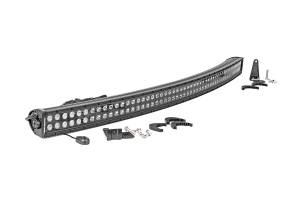 Rough Country - 50-inch Curved Cree LED Light Bar - (Dual Row | Black Series)