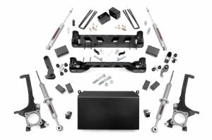 Rough Country - 6in Toyota Suspension Lift Kit | Lifted N3 Struts (16-19 Tundra 4WD/2WD)