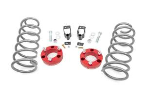 Rough Country - 3in Toyota Series II Suspension Lift Kit (03-09 4-Runner 4WD w/X-REAS | RED)