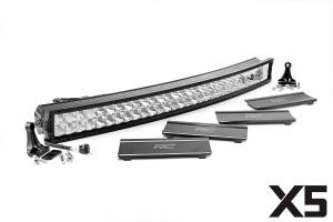 Rough Country - 40-inch Curved Cree LED Light Bar - (Dual Row | X5 Series)