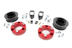 Rough Country - 3in Toyota Suspension Lift Kit (03-09 4-Runner 4WD w/X-REAS | RED)