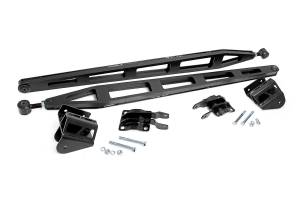 "2016-2019 Nissan 5.0L Cummins - Suspension Parts, Lift & Leveling Kits - Rough Country - Nissan Traction Bar Kit | 6"" Lift (16-19 Titan XD Crew Cab 4WD)"