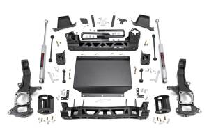 2016-2019 Nissan 5.0L Cummins - Suspension Parts, Lift & Leveling Kits - Rough Country - 6in Nissan Suspension Lift Kit (16-19 Titan XD 4WD)