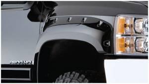 Bushwacker - Bushwacker 07-14 Chevy Silverado 2500 HD Cutout Style Flares 2pc - Black