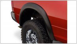 Bushwacker - Bushwacker 10-18 Dodge Ram 2500 Fleetside Extend-A-Fender Style Flares 2pc - Black