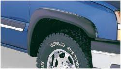 Bushwacker - Bushwacker 07-14 Chevy Silverado 2500 HD Extend-A-Fender Style Flares 2pc - Black