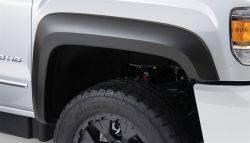 Bushwacker - Bushwacker 15-18 GMC Sierra 2500 HD Extend-A-Fender Style Flares 2pc - Black
