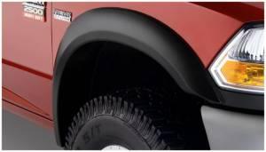 Bushwacker - Bushwacker 10-18 Dodge Ram 2500 Extend-A-Fender Style Flares 2pc - Black