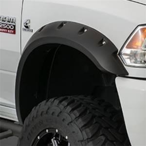 Bushwacker - Bushwacker 15-18 Chevy Silverado 2500 HD Max Pocket Style Flares 2pc - Black
