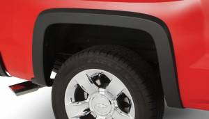 Bushwacker - Bushwacker 15-18 Chevy Silverado 2500 HD Fleetside OE Style Flares 2pc 78.8/97.8in Bed - Black