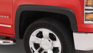 Bushwacker - Bushwacker 15-18 Chevy Silverado 2500 HD OE Style Flares 2pc - Black