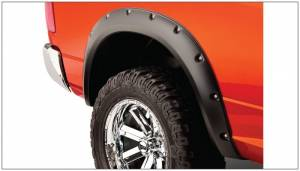 Bushwacker - Bushwacker 10-18 Dodge Ram 2500 Fleetside Pocket Style Flares 2pc 67.4/76.3/96.3in Bed - Black
