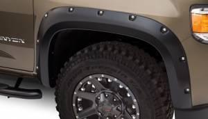 Bushwacker - Bushwacker 15-18 GMC Canyon Pocket Style Flares 2pc 5ft Bed - Black