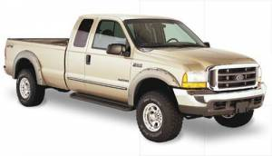 Exterior - Fender Flares - Bushwacker - Bushwacker 20914-02 Pocket Style Fender Flare Fits 1999-07 Ford Super Duty F-250/350/450